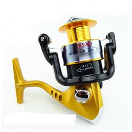 Fishing Reels YB2000-5000 Series Metal Spinning Reel Ocean Lure Rod 13 Bearing Seamless Metal Wire Cup