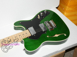 Free Shipping Custom shop green guitar New arrival light green Electric Guitar