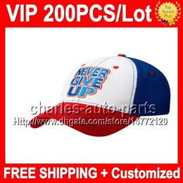 VP Price 100% NEW Blue white Baseball Hat Cap Top Quality VP598 NEW Blue red Baseball Caps Baseball Hats Factory onlie store!