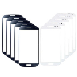 Front Screen Outer Glass Lens Replacement Part For Samsung Galaxy S4 i9500 i9505 i337 M919 i545