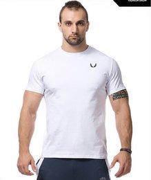 2016 Newest cotton t shirt men compression t shirt gym male bodybuilding and fitness shirt sportswear men Muscle Men tshirt homme