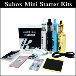 Top quality Subox mini starter kit 50W mod subtank mini tank Kbox 50W mod subtank kangertech starter kit