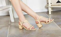 Brand Size 32-43 Women's New High Heel Sandals Gladiator Fashion Lady Sexy Platform Sandals Heels Summer Shoes Sandals