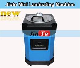 Wholesale Small Phone Repair Shop User JiuTu Mini OCA Laminating Machine No Need Air compressor Vacuum Pump OCA Laminator Bubble Remover