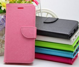 PU Leather Case Defender Folding Stand Phone Cover Folio Wallet for Apple iPhone 6 iPhone 6S with Retail Package 50pcs color at least