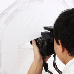 Nouvelle caméra d'arrivée Photo Softbox Lumière Tente Cube 50 * 50 * 50 cm Taille Soft Boîte boîte récepteur à partir de photo boîte de tente fournisseurs
