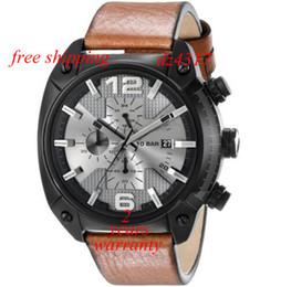 Wholesale New Men s Overflow Analog Display Quartz Movement Brown Watch