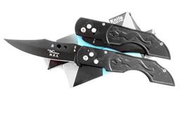 Wholesale Todo el cuchillo plegable de acero abre rápidamente el embalaje de la caja de ajustes lámina sostenido fuerte un envío