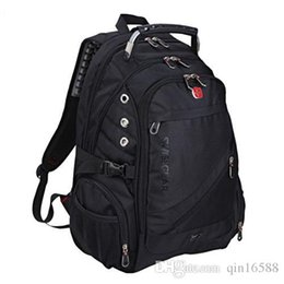 2015 Swiss army bag pack 15 inch Laptop backpack Men and women business double shoulder Travel backpack School computer bag M01