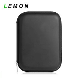 Wholesale Portable inch IDE SATA HDD Hard Disk Drive Storage Box Power Bank Battery Earphone Zipper Case Protection Bag Shockproof