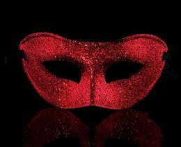 Vintage Men women bling powder mask adult masks masquerade party Masked Ball masquerade even mask festive Hallowen Christmas supplies