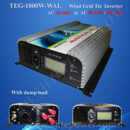 wholesale ac to ac grid tie inverter 1000W for wind turbine, 48V to 110v 220V 60Hz converter for wind