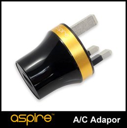Wholesale Cheap Electronics Uk - E Cigarette Wall Adaptor Aspire UK USB Charger Wall Charger USB Charger For Electronic Cigarette Cheap Aspire UK Plug Sale