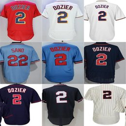 2016 New Hot Sale Minnesota #2 Brian Dozier Jersey Mens Womens Kids stitched Embroidery Logos White Blue Ivory Red baseball jerseys