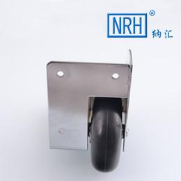 Wholesale nahui air box angle round wooden rod box corner round corner built in wheel industrial wheels