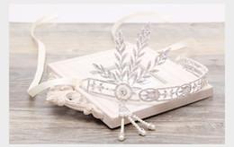 Wholesale W003 Wedding Headdress Bridal Tiaras Crystals Hair Accessories Sparkling Sliver Rhinestones Metal Bridal Headpiece Headwear