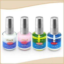 Wholesale IBD NAil ml Nail Polish Add Calcium Base Oil Softener Nutrition Oil Armor Oil Hot Sales