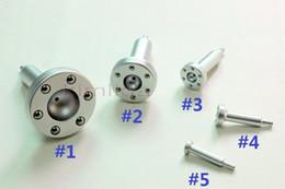 Wholesale vacuum head for vacuum slimming machine metal vacuum massage roller Vacuum Slipping probe vacuum beauty machine