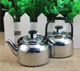 Wholesale creative personality Metal teapot lighters Tea set household appliances gas butane windproof lighters DIY Kitchen Tool