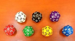 D30 Bosons 25mm 30 Sided Polyhedral Dice Multicolour Party Drinking Games Funny Entertainment Children Party Game High Quality #P3