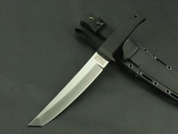 Wholesale Cold Steel RECON TANTO RTSM SAN MAI Hunting Fixed Knives D2 Blade ABS Handle Outdoor Survival Knife