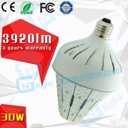 E27 ce smd à vendre-CE ROHS FCC approuvé LED 30W lumière de maïs E26 E27 SMD ampoules LED 100 ~ utilisation de 277V en post top luminaire de rue
