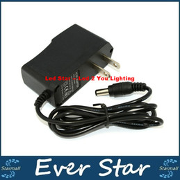 New 12V 1A Power Supply AC 100-240V To DC Adapter Plug For 3528 5050 Strip LED with EU US plug free shipping