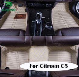 Wholesale Top Quality D Car Floor Mat For Citroen C5 Foot Mat Car Foot Pad Colors Left Hand Driver Drop Shipping KF A2228