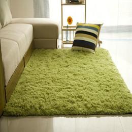 Wholesale rug cm thickness cm Fashion Living Dining Bedroom Car Flokati Shaggy Ivory Rug Anti skid Carpet Seatmat