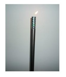 Magic wand Ignition magic cane magic stick (Black red silver white), Metal stage,props,accessories,gimmick