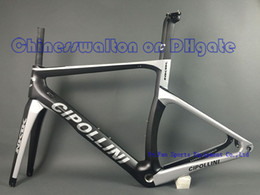 Wholesale Newest MCipollini NK1K T1000 K or k frame Full Carbon Road Bike Frame fork headset seatpost Size XXS XS S M L bicycle frameset