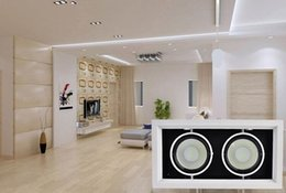 Wholesale price W Double COB LED Grille Lampe COB LED Downlight with Led Driver W COB LED Recessed Light mm AC85 V