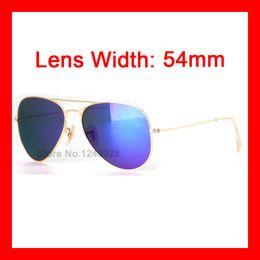Wholesale High Quality Kid Pilot Sunglasses Fashion Children Reflect Light Sun Glass UV400 Protection Items Girls Boy Baby Eyewear mm Lens