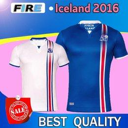 Wholesale Iceland Soccer Uniforms Jerseys Chandal men s Best Quality Iceland Euro Cup Football jerseys Camisetas De Futbol Shirts