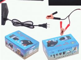 Portable Car Battery Charger 12v 8A Fully-automatic Car motorcycle battery charger Adaptor Power Supply US EU Conversion head