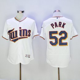 Wholesale 2016 Minnesota Twins Jersey Mens Byung ho Park White Flexbase Collection Baseball Jersey All Stitched Best Quality