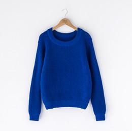 Wholesale Crochet Sweaters Wholesale - women winter knit sweater Sweater U-neck Knitwear Pullover Jumper Tops