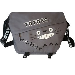 Wholesale New Animation Causal Oxford Totoro Cartoon Sports Bag Shoulder School Bags for Teenager Girls and Boys