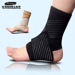 Wholesale Sports Ankle Support Football Basketball Taekwondo Badminton Sport Protection Bandage Elastic Ankle Sprain Brace Guard Protect