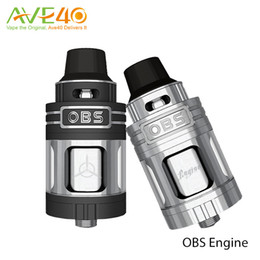 Wholesale Authentic New OBS Engine RTA RBA Atomizer Tank Side Filling Top Air Flow Temperature Control VS OBS Crius Tank