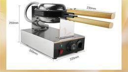 Wholesale professional electric Chinese eggettes puff waffle iron maker machine bubble egg cake oven V V EU US plug