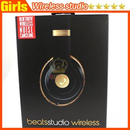 Wholesale High Quality Used Beats studio Wireless Headphones Noise Cancel Bluetooth Headphones Headset with seal retail box