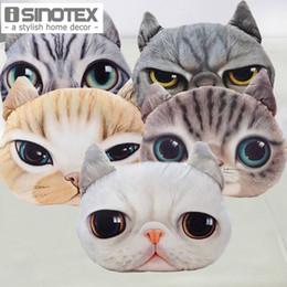 Sieste chat en Ligne-Président Cartoon Canapé Coussin Oreiller Personnalité Car Creative Cat Handsome Forme Nap Oreiller mignon Coussin 1PCS / Lot