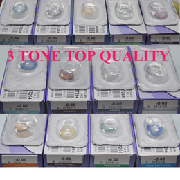 Wholesale 3 tone fresh color blends contact lenses DHL delviery contactlens Fresh color contact lens colors contact lenses