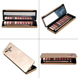 Newest 12 Colors Eyeshadow Palette Hot Makeup Tool Eyeshadow Palette with Brush 2016 Comestic Palette Eyeshadow freeshipping