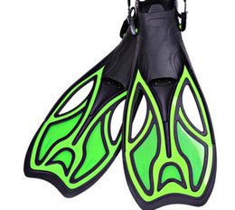 Wholesale Adjustable hydrofoil diversion diving fins swim training long flippers