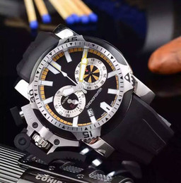 High Quality Cheap New Chronofighter Quartz Oversize DIVER Sports Gents Watch 20VEZ.B24A.K10N Black Rubber Strap Mens Gents Watches