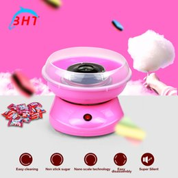 Wholesale 2016 Hot Selling Mini portable Electric DIY cotton candy machine Household Cotton Candy Machine for children girl boy gift