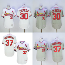 Wholesale 2016 NEW Flexbase Authentic Collection Team Men St Louis Cardinals Orlando Cepeda Brandon Moss baseball jerseys Stitched size S XL