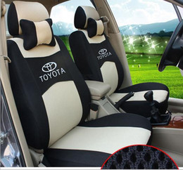 Wholesale Full Set Seat Cover for TOYOTA toyota landcruiser Corolla Yaris Reiz Vios toyota camry All Years Models Dedicated Car car seat cover
